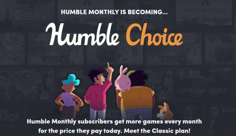 humble bundle choice