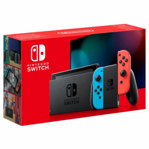 new nintendo switch version