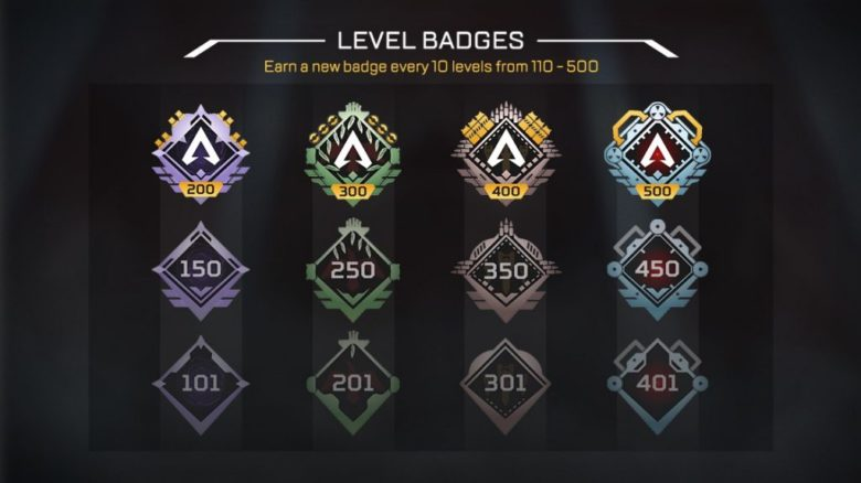 Apex Legends - Player Level Progression Changes