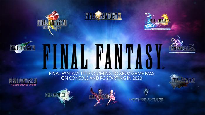 Final Fantasy Xbox Game Pass