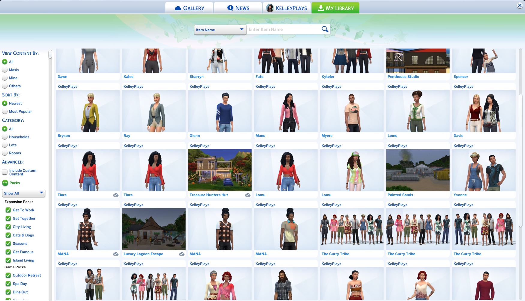 sims 4 expansion packs 2020