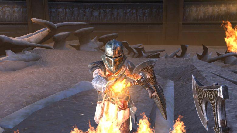 The Elder Scrolls Blades Switch
