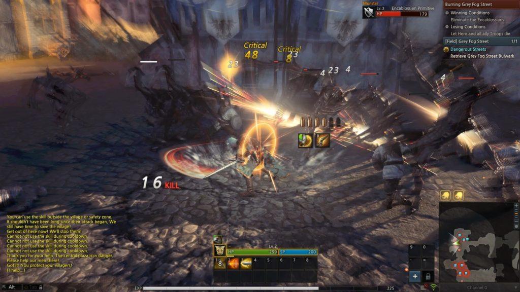 kingdom under fire 2 gunslinger combat