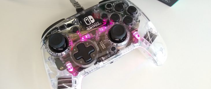pdp afterglow deluxe switch+ wired header