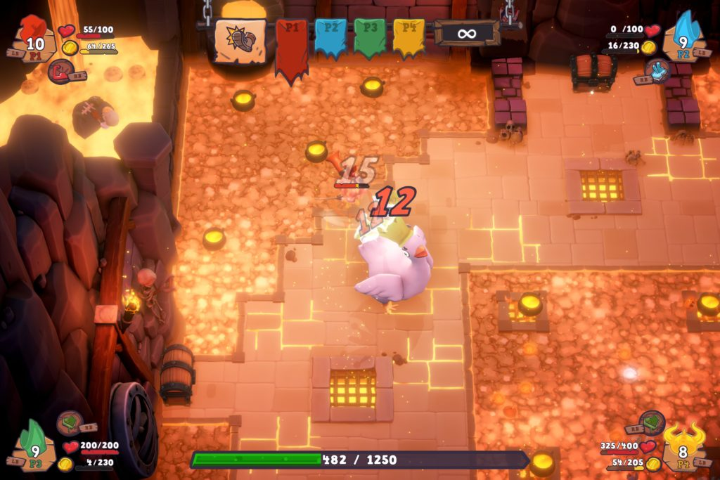 Munchkin: Quacked Quest Review - Chicken