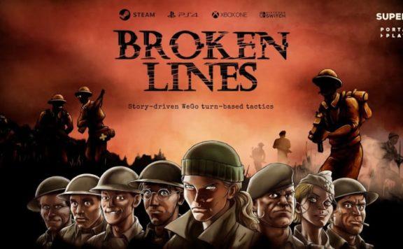 Broken Lines Interview