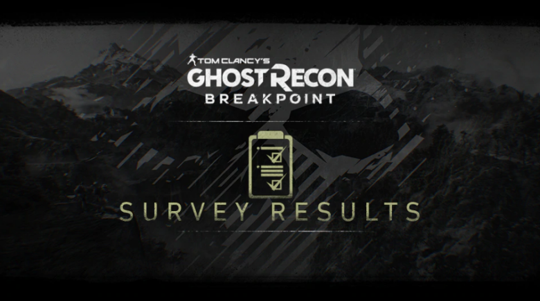 Ghost Recon Breakpoint Shows Off Community Survey Results