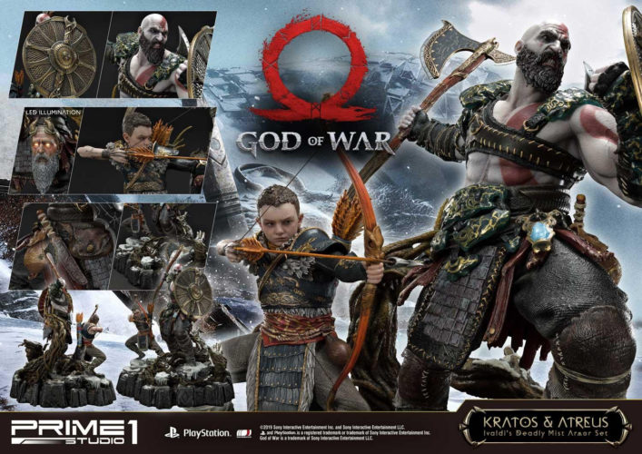 God Of War Krasos Atreus Statue Is Here To Raid Your
