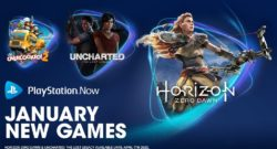 Horizon Zero Dawn & Uncharted Lost Legacy Come to PS Now in January