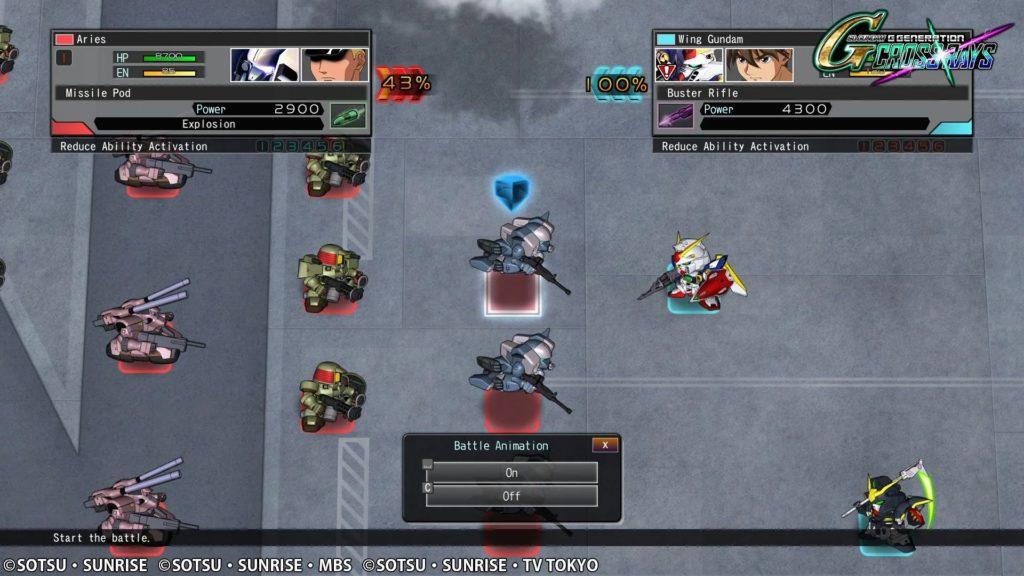 SD Gundam G Generation Cross Rays Review 3