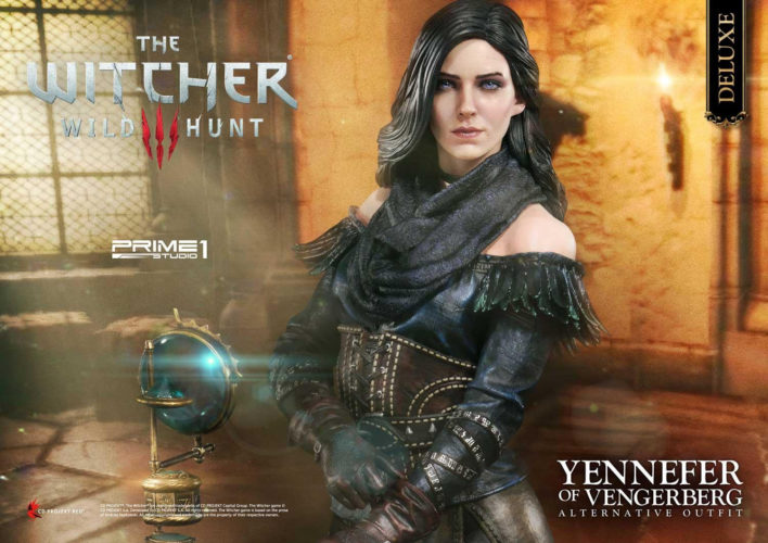 The Witcher 3 Wild Hunt Yennefer of Vengerberg Statue Pre-orders Open