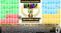 tetris 99 team battle