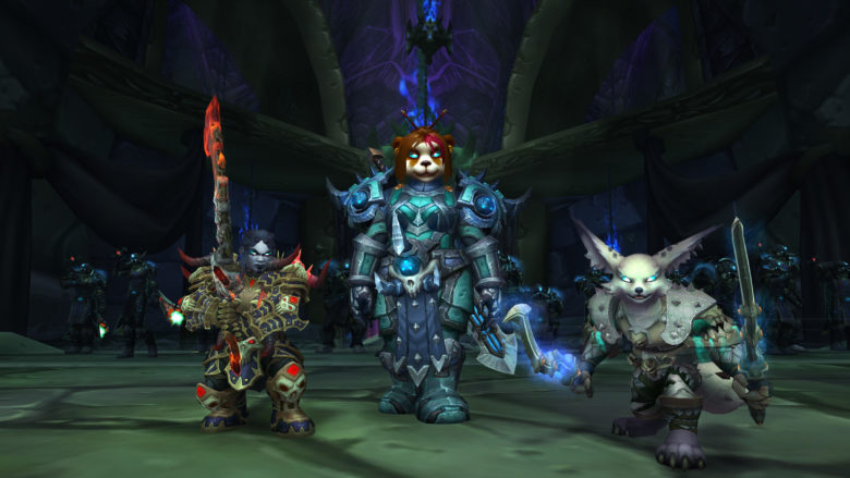 Blizzard Previews Death Knights for Allied Races & Pandaren in Patch 8.3 Visions of N'zoth
