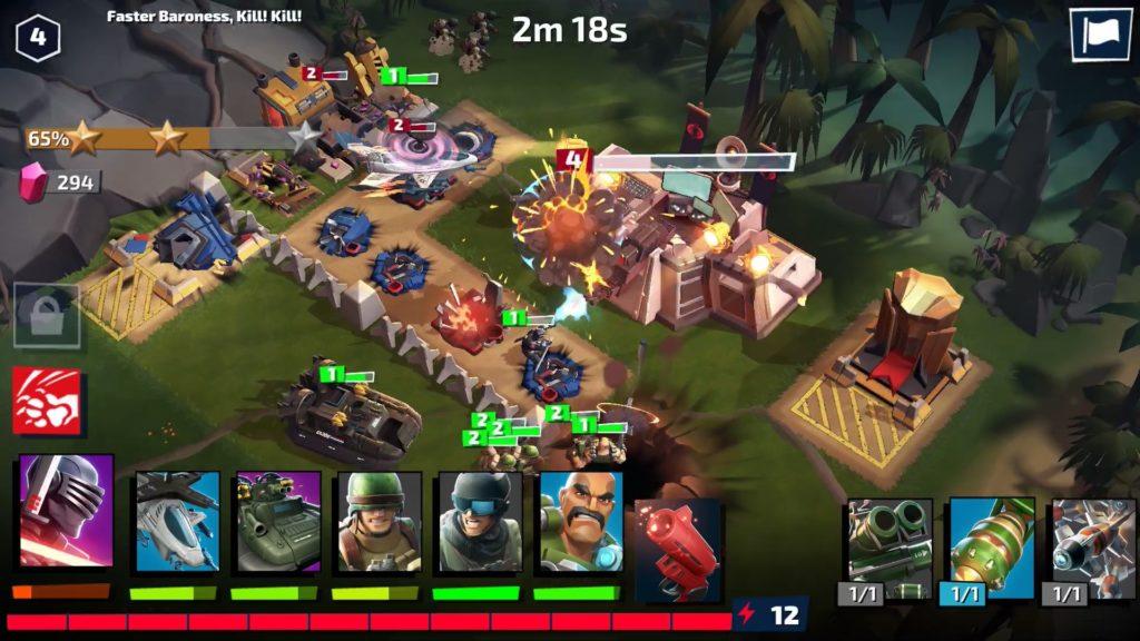 team battle War on Cobra Getting Started Tips