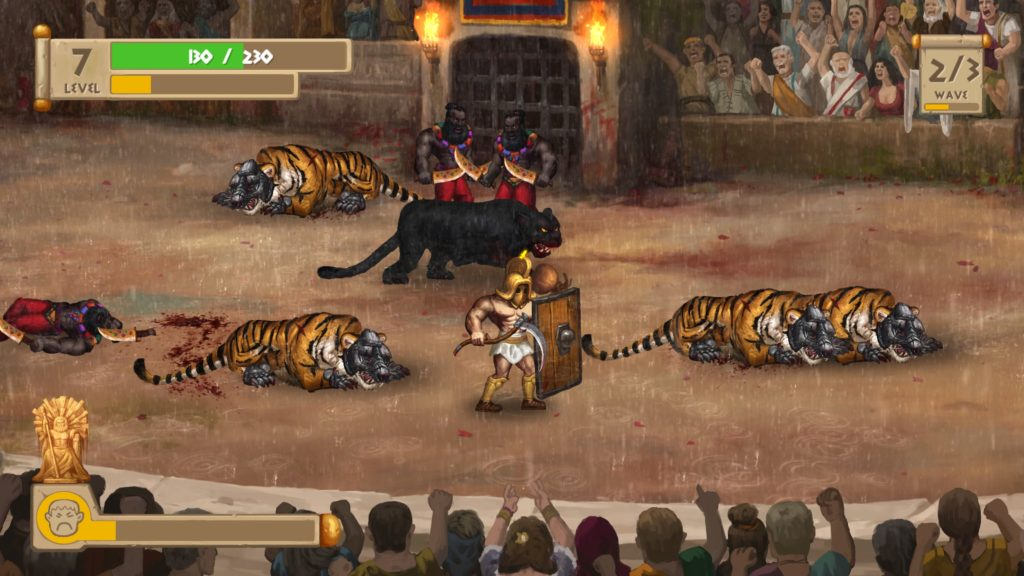 Story of a Gladiator PS4 Review Tiger