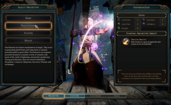 The Bard's Tale IV Director's Cut Requires Windows 10