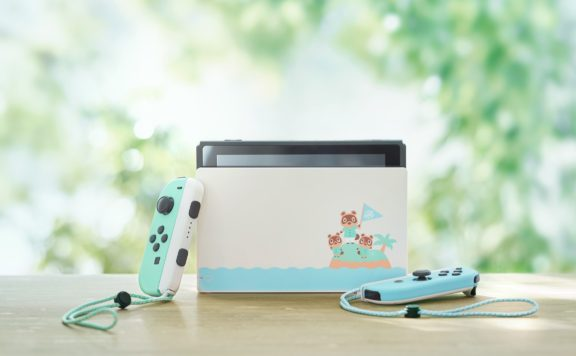 animal crossing themed nintendo switch