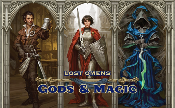Lost omens gods and magic cover art.