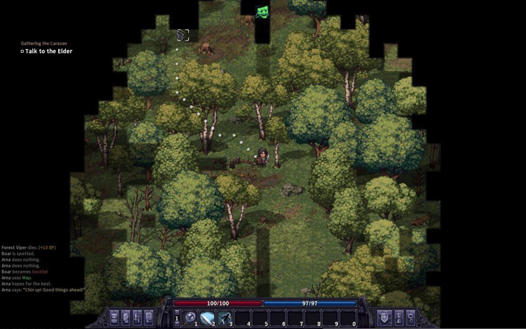 StoneShard Forest