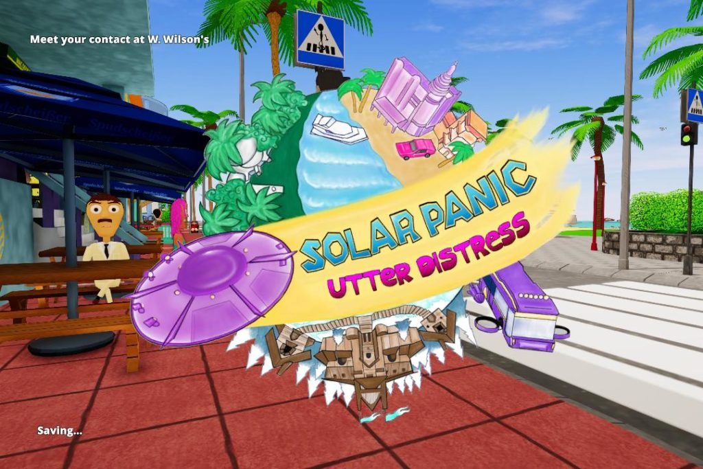 Solar Panic: Utter Distress Review