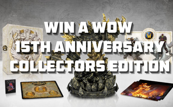 win a WoW 15th Anniversary Collectors Edition