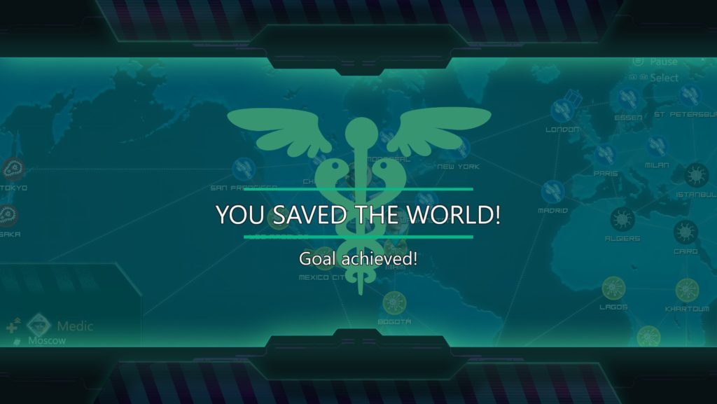 You saved the world!
