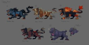 Heroes of the Storm Greek Gods Event Cerberus Mount Concept
