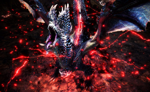 Black Dragon Alatreon is Coming to MHW Iceborne