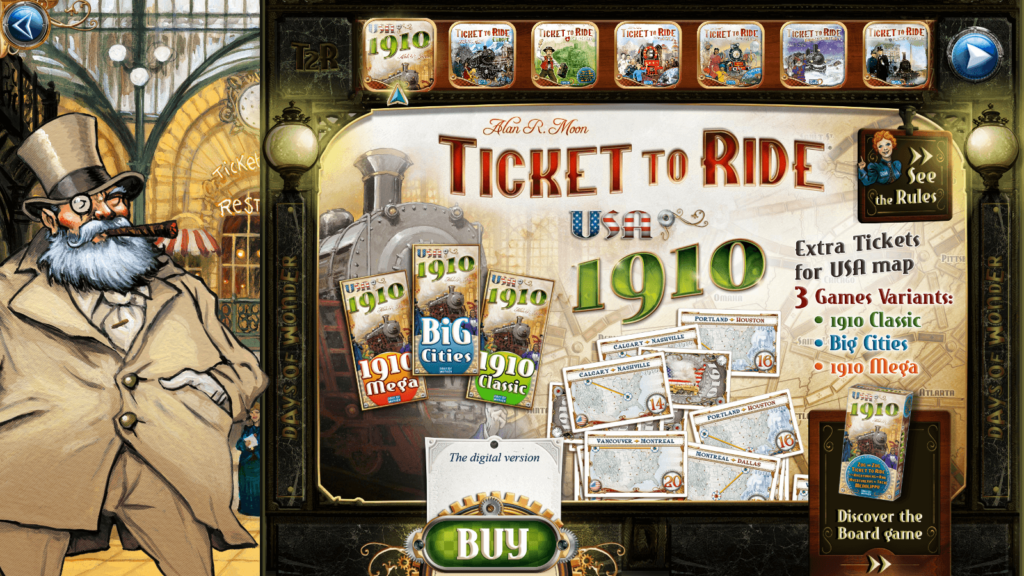 Ticket to Ride Expansions