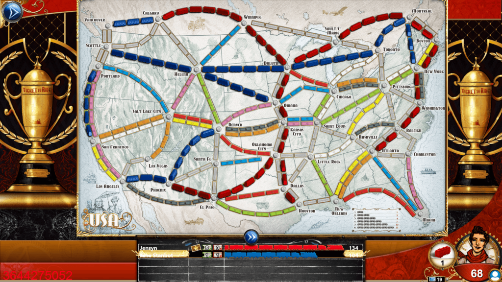 Ticket to Ride End Game