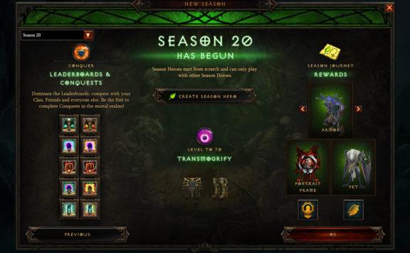 Diablo 3 Season 20