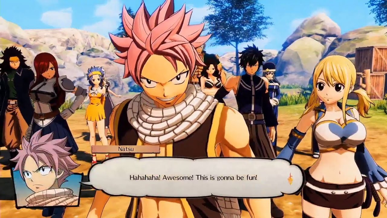 FAIRY TAIL RPG - Story Trailer - GameSpace.com