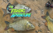 Fishing Adventure Banner