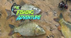 Fishing Adventure Banner
