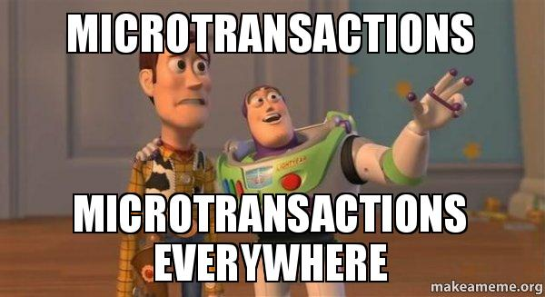 Games of Chance - Microtransactions