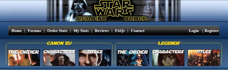 Star Wars Reading Order Banner