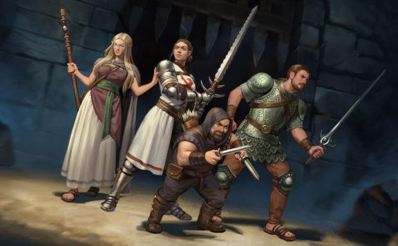 Wild River Games Unveils Co-Op RPG The Dark Eye Book of Heroes