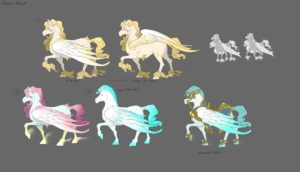 Heroes of the Storm Greek Gods Event Pegasus Mount Concept