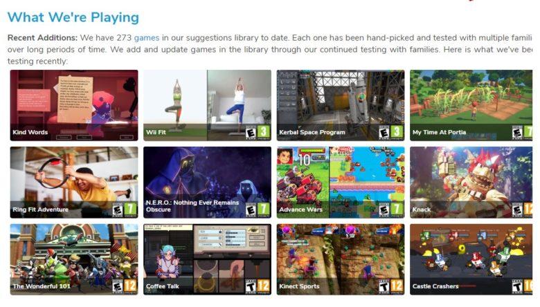 family video game database