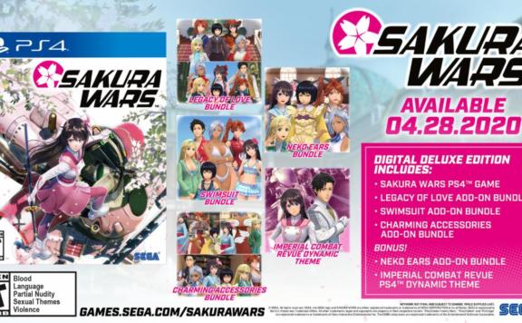 sakura wars trailer and luanch edition