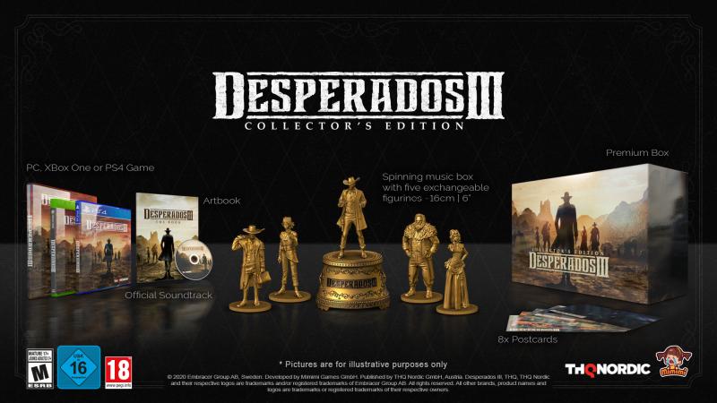 Desperados Iii Collector S Edition Trailer Gamespace Com