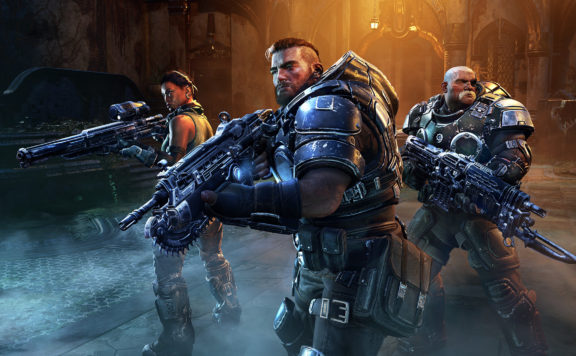 Check Out Gears Tactics Launch Trailer!