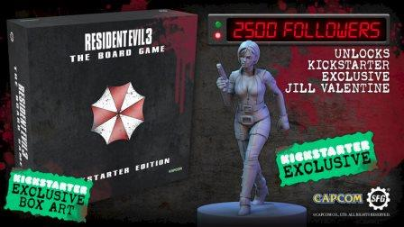 Resident Evil 3 Board Game is Coming to Kickstarter