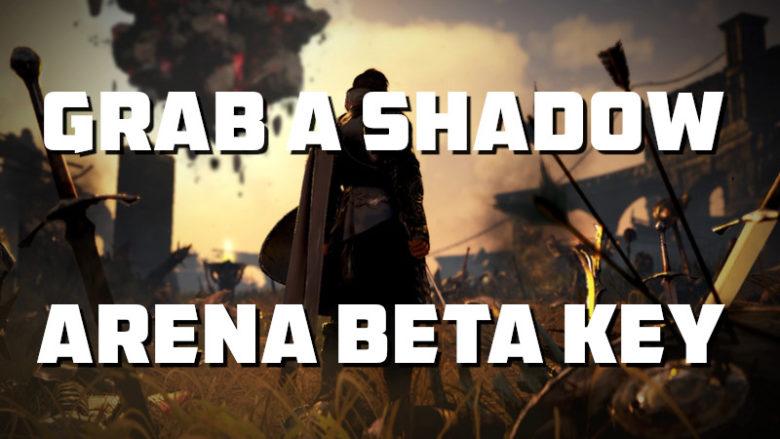 SHADOW ARENA BETA KEY GRAB ONE
