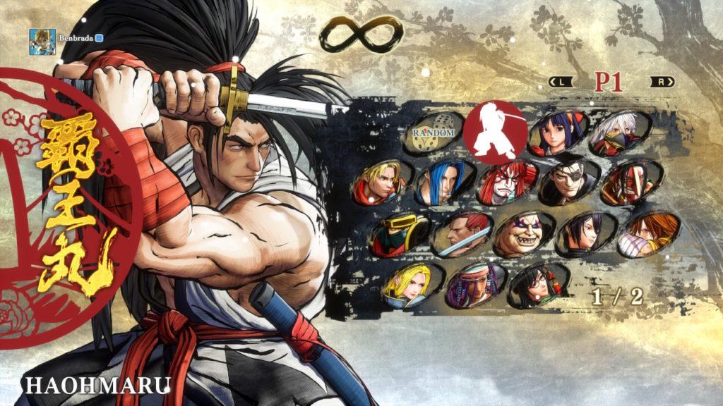 Samurai Shodown Characters