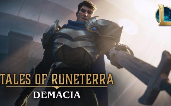 Tales of Runeterra Cinematic Demacia - Before Glory