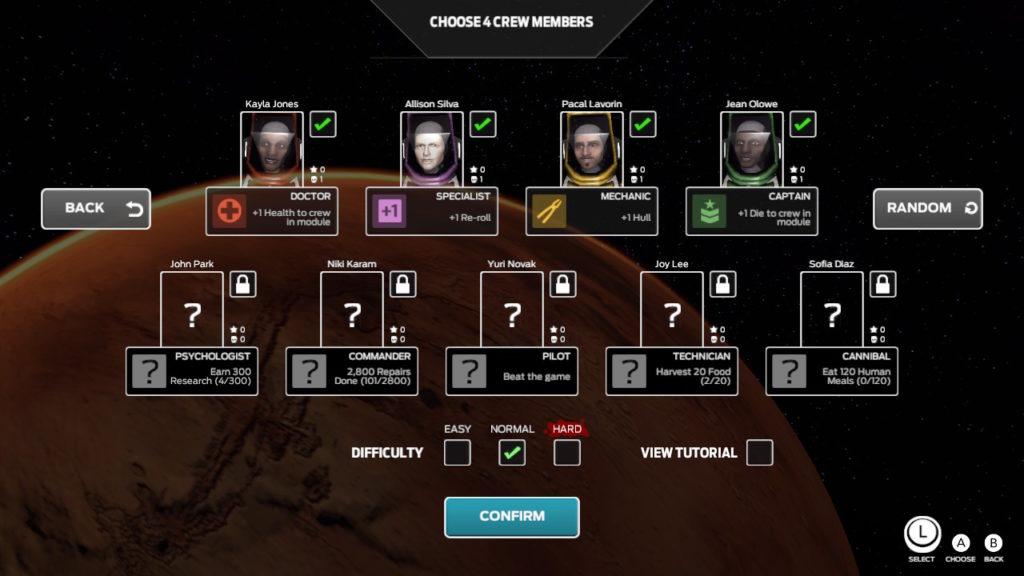 Pick Your Crew Members
