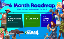 The Sims 4 - 6 Months Roadmap