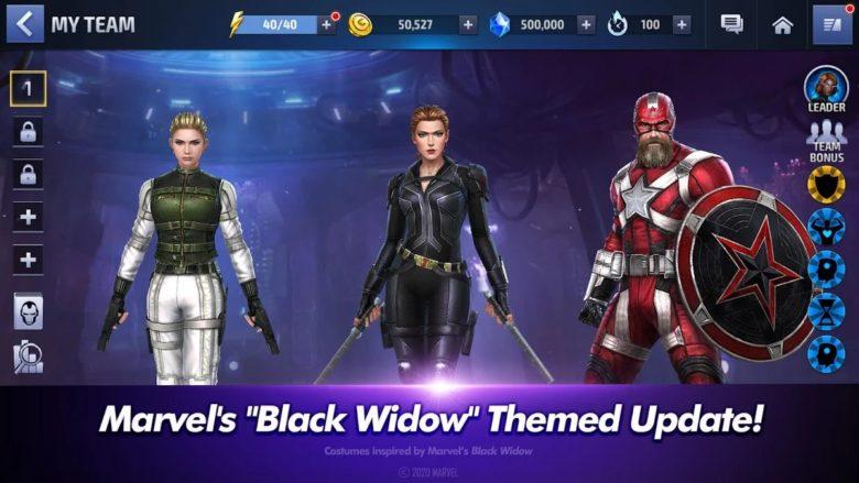 black widow marvel future fight