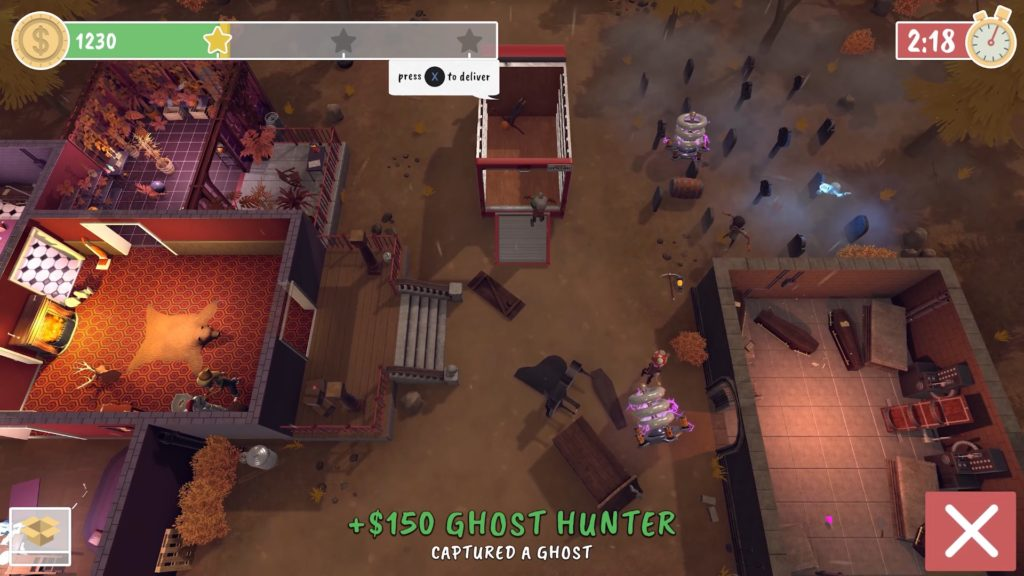 get packed interview ghost hunter